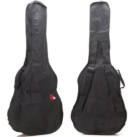 Rio 3 4 Classical Acoustic Guitar Gig Bag Carry Case Nylon Cover Gigbag