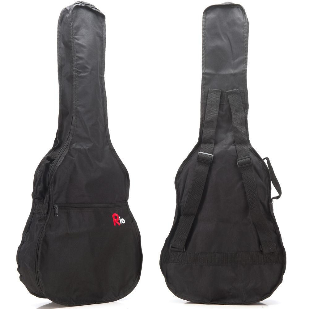 Rio 3/4 Classical Acoustic Guitar Gig Bag Carry Case Nylon Cover Gigbag